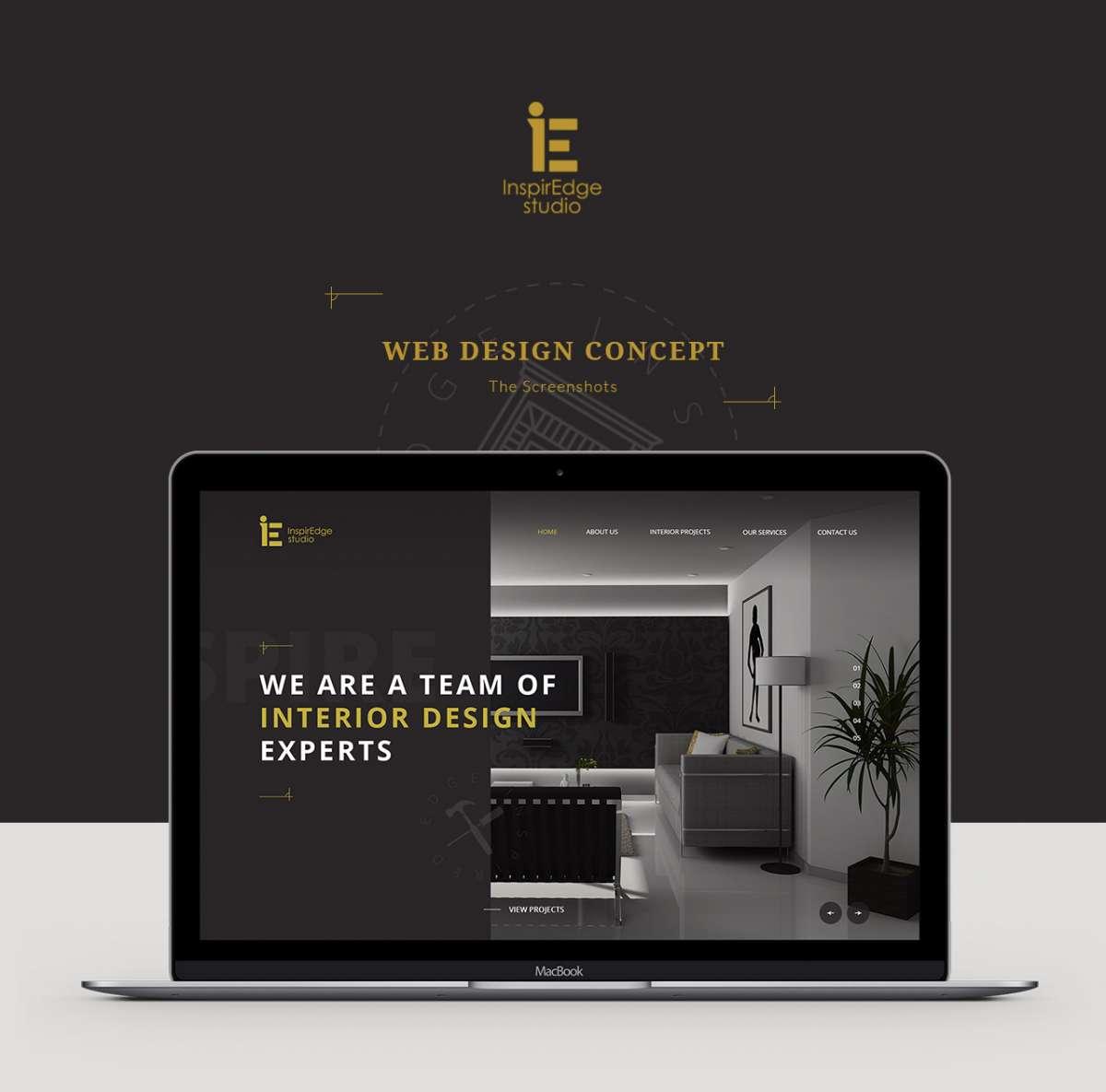 Web Design Portfolio - Inspire Edge Studio