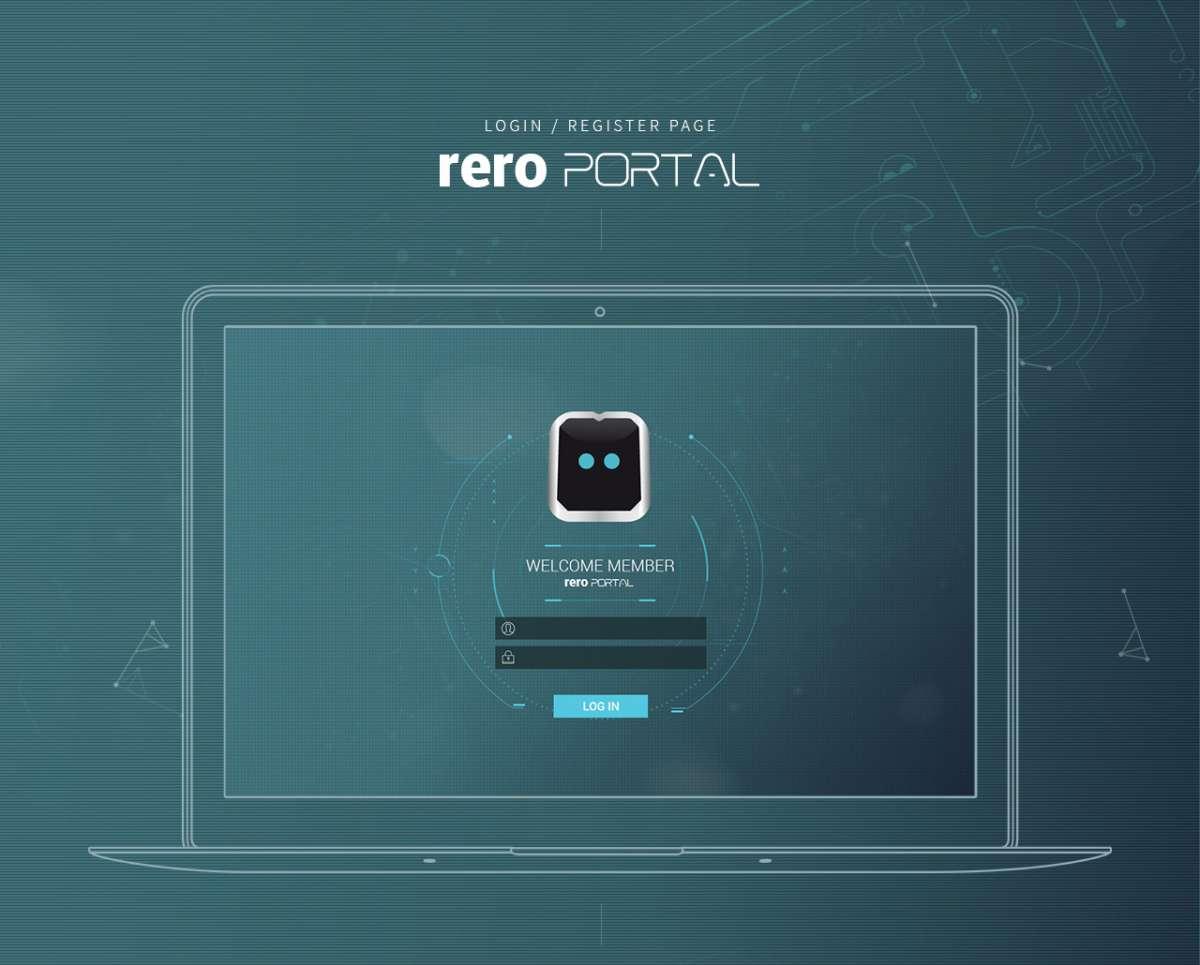 Web Design Portfolio - rero robots