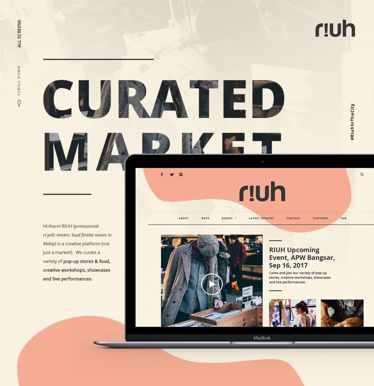 Web Design Portfolio - riuh