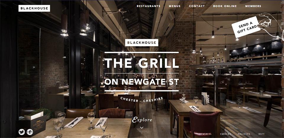 Web Design Inspiration - Cafe & Restaurant Website