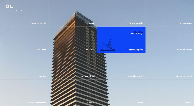 Web Design Inspiration - architectural and interior design
