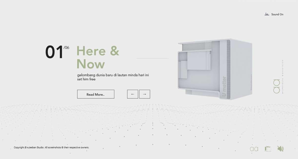 Web Design Portfolio - architects associates