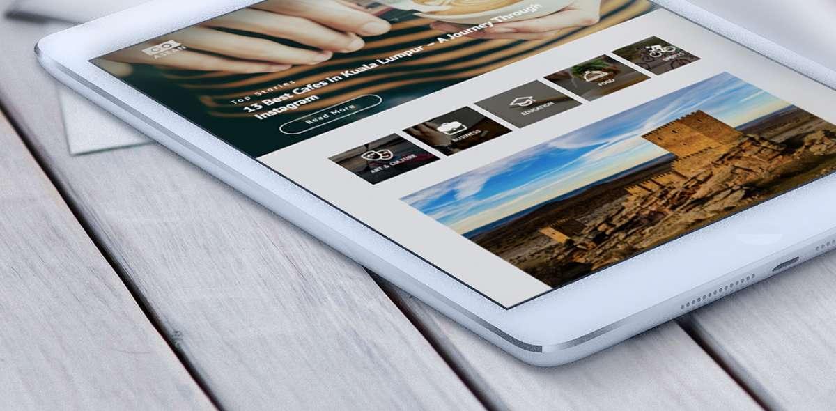 Web Design Portfolio - GOASEAN